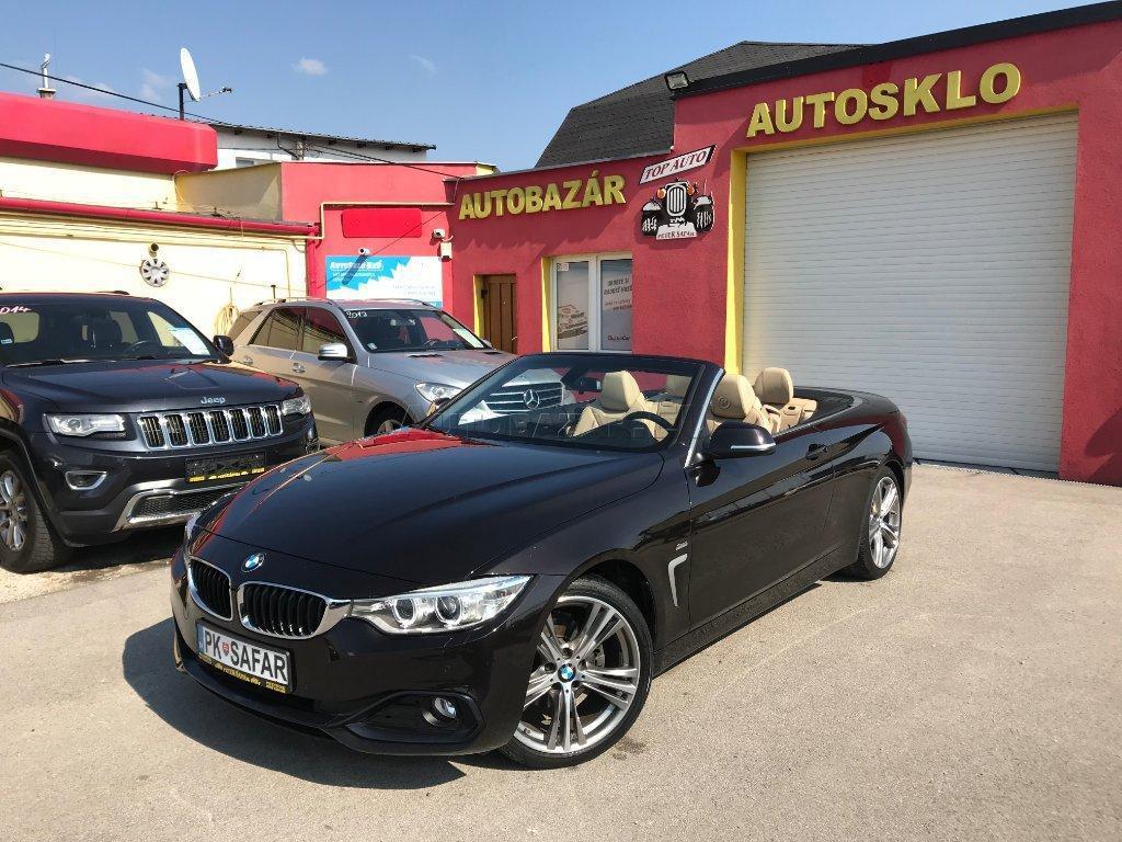 BMW Rad 4 Cabrio 420d Sport Line A/T, 140kW, A8, 2d.