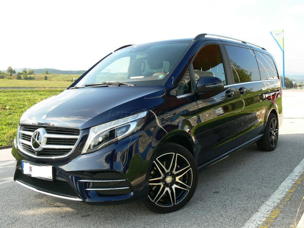 Mercedes-Benz V trieda V250 d lang Exclusive 4MATIC