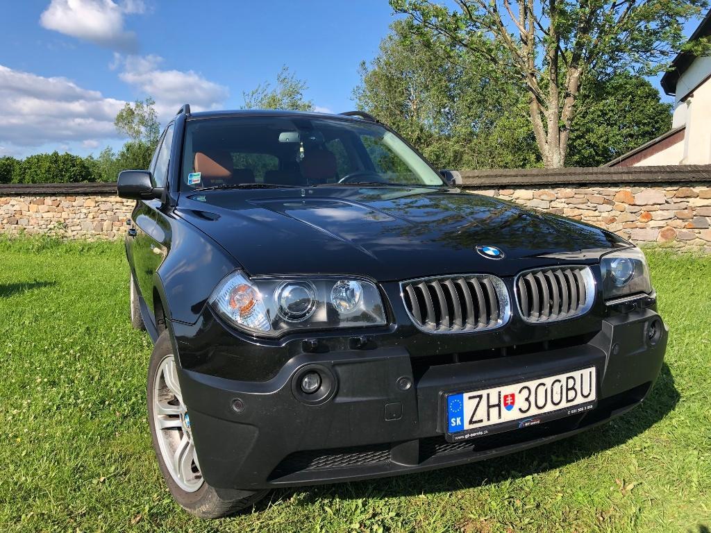 BMW X3 xDrive20d, 110kW, M6, 5d.