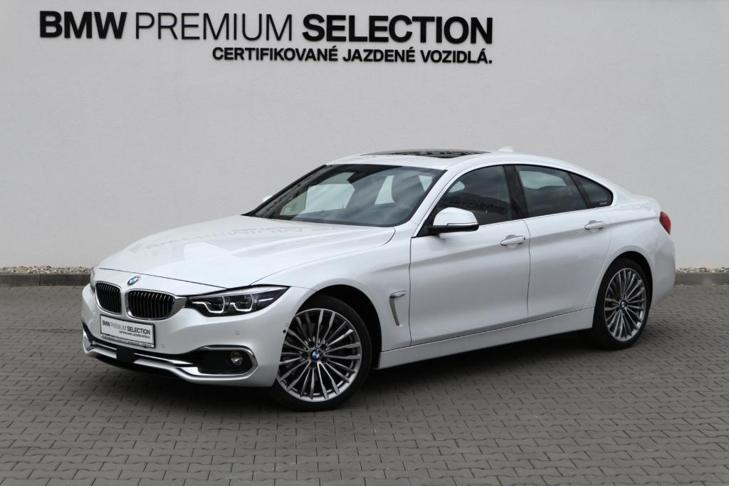 BMW rad 4 Gran Coupé 430d xDrive Luxury Line (F36)