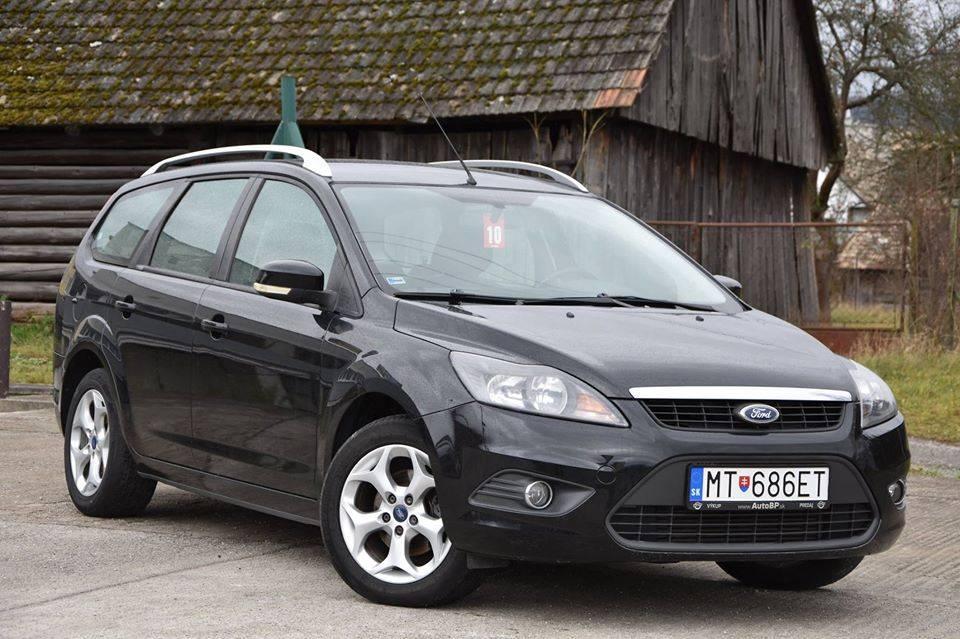 Ford Focus Kombi 1.6 TDCi Duratorq DPF Titanium
