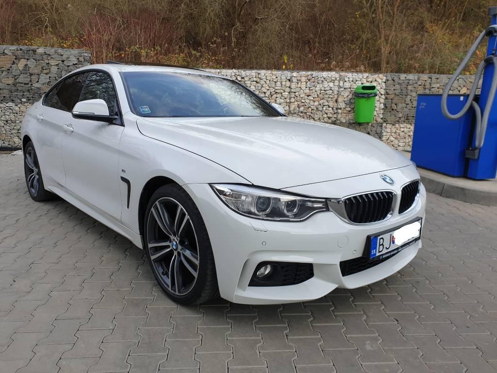 BMW Rad 4 Gran Coupé 420d xDrive M-Packet A/T (F36)