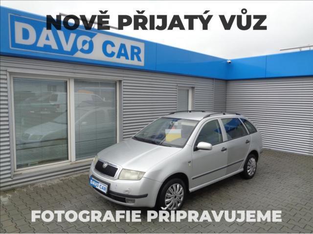Škoda Fabia Combi 1,4 MPI 50KW CZ central