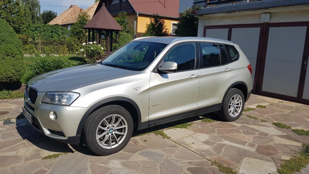 BMW X3 xDrive20d A/T, 135kW, A8, 5d.