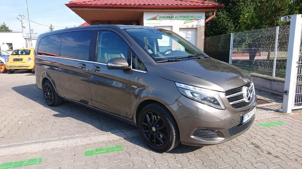 Mercedes-Benz V trieda V250 d lang Avantgarde 4MATIC A/T