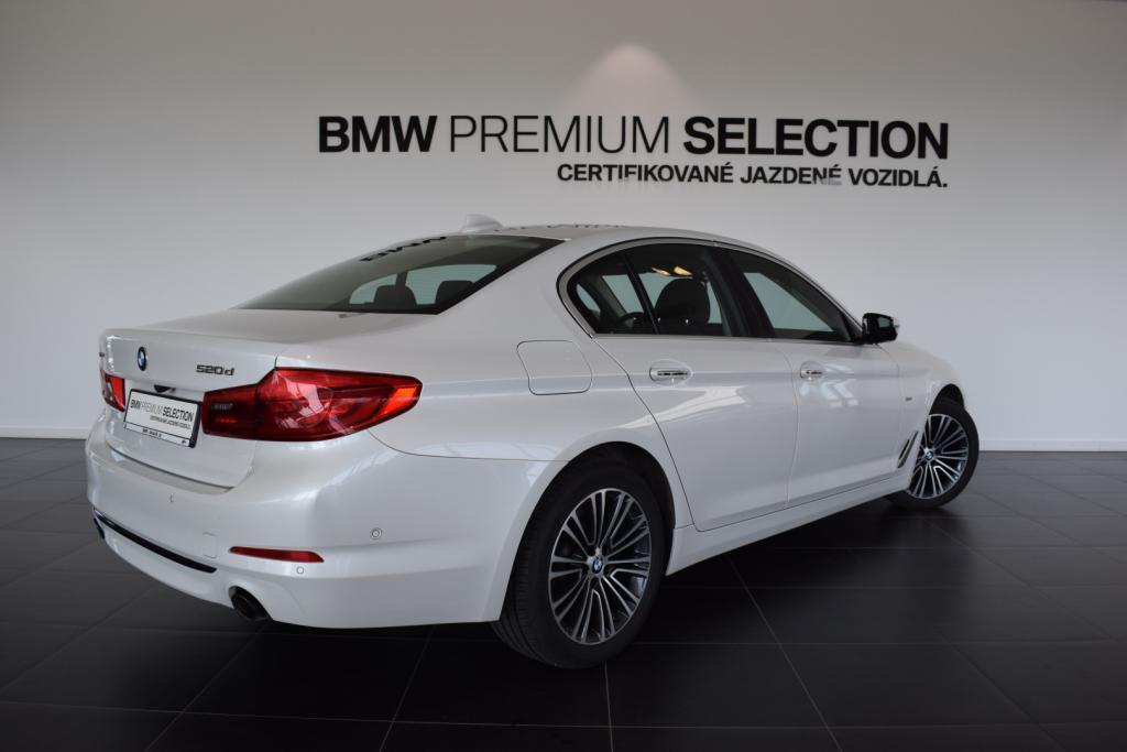 BMW rad 5 520d xDrive Sport Line (G30)