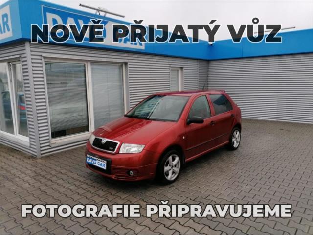 Škoda Fabia 1,4 MPI CZ STK 9/22
