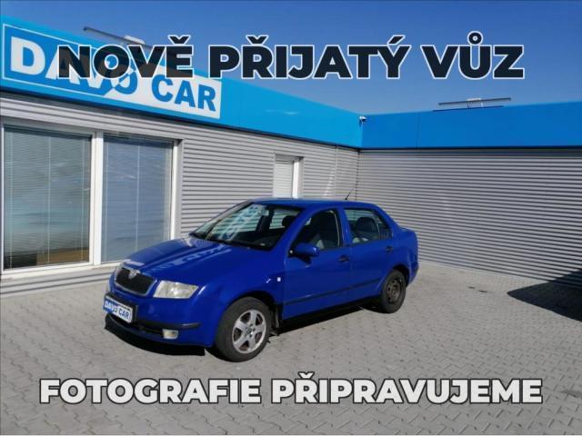 Škoda Fabia 1,4 MPI CZ Klima