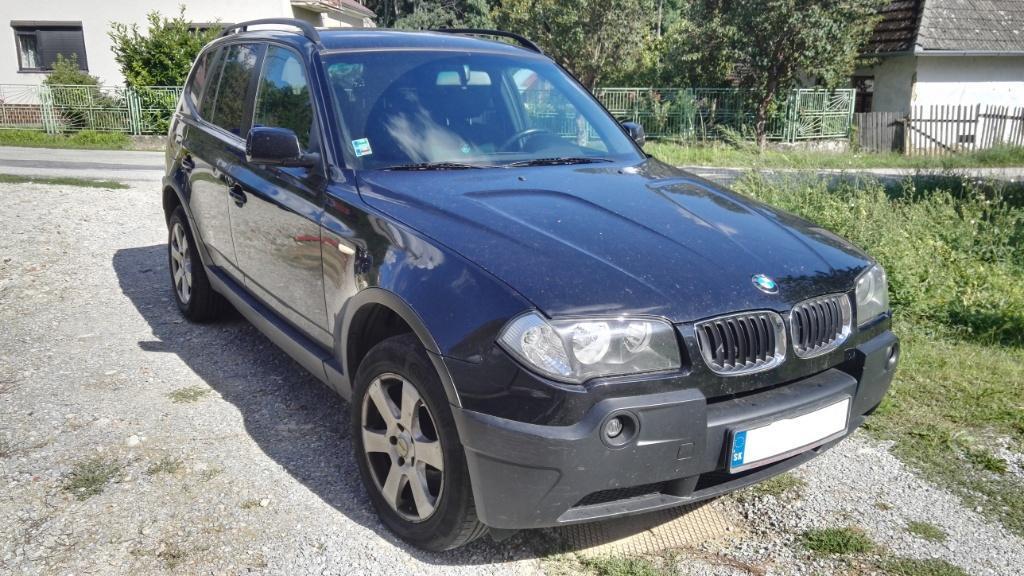 BMW X3 2.0d, 110kW, M6, 5d.