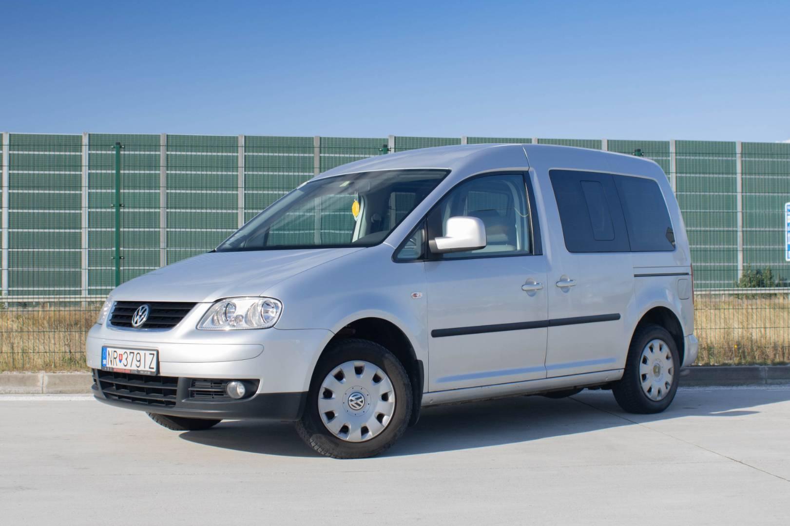 Volkswagen Caddy Life 2,0 CNG 5M 80kw ECOFuel