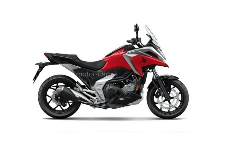 Honda NC 750 X ABS cervena