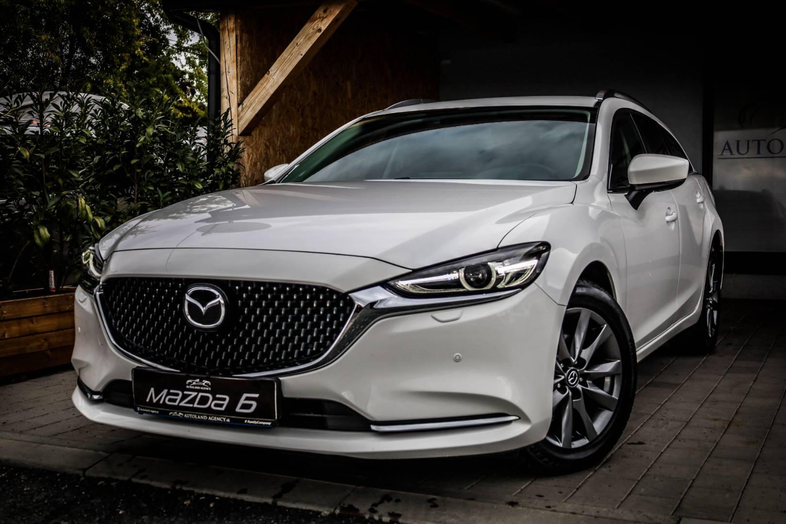 Mazda 6 Combi (Wagon) 6 2.5 Skyactiv-G194 Attraction A/T