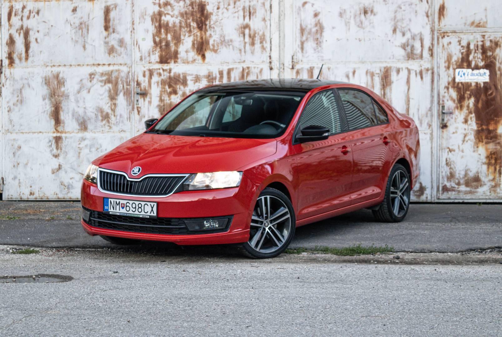 Škoda Rapid 1.2 TSI 110k Drive
