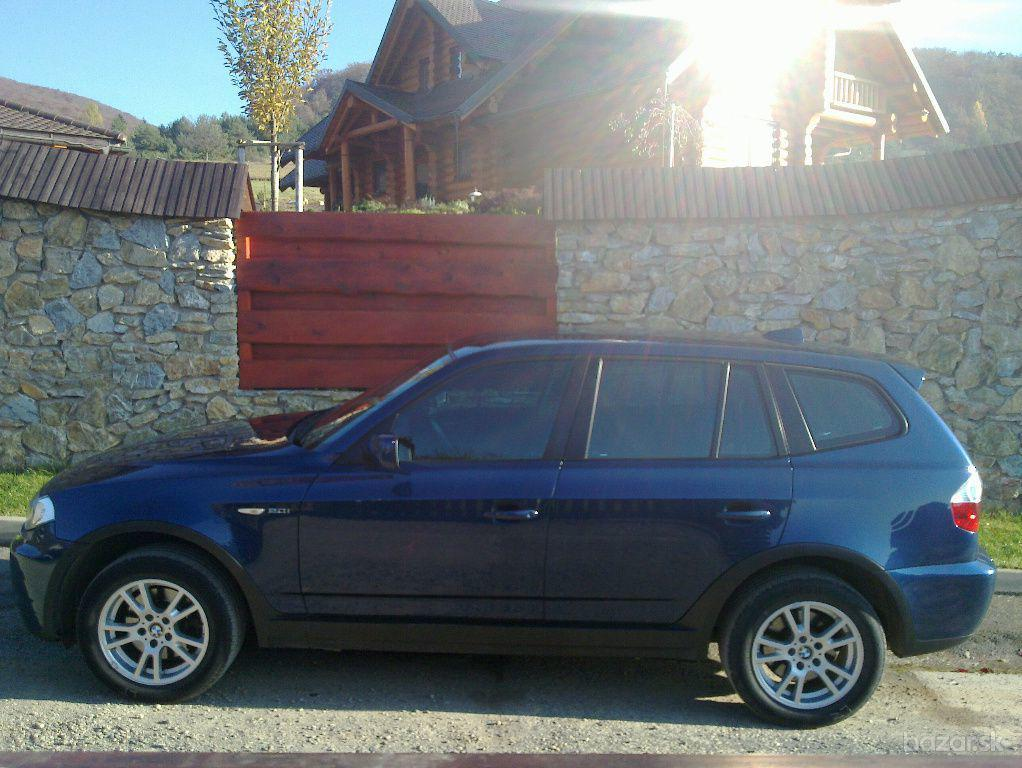 BMW X3  xDrive20i, 110kW, M6, 5d.