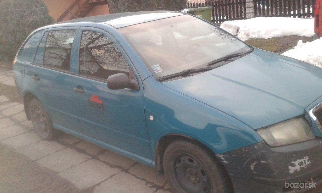 Škoda Fabia Combi   1,4 MPI Praktik