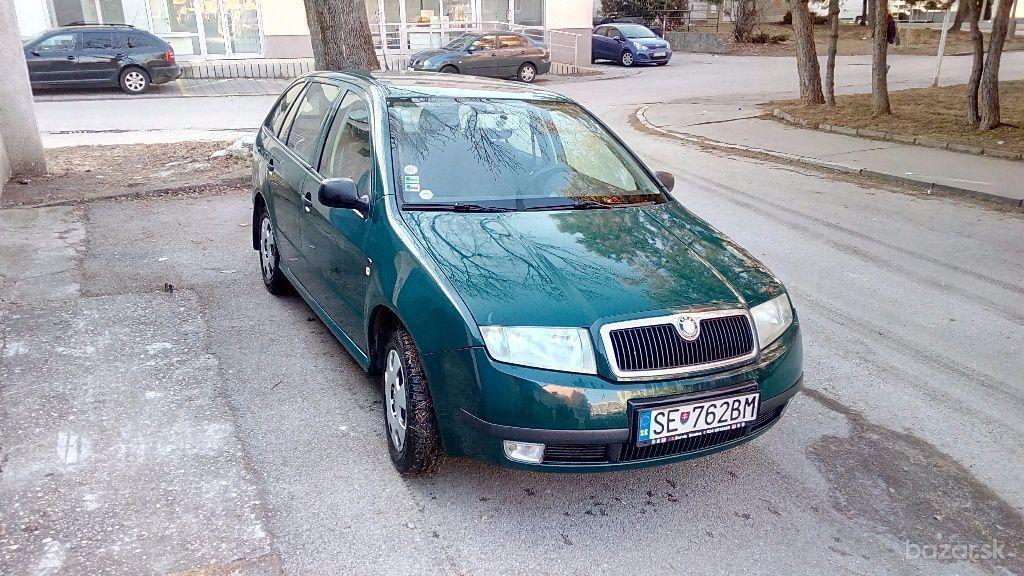 Škoda Fabia Combi   1,4 MPI klasik 50kW