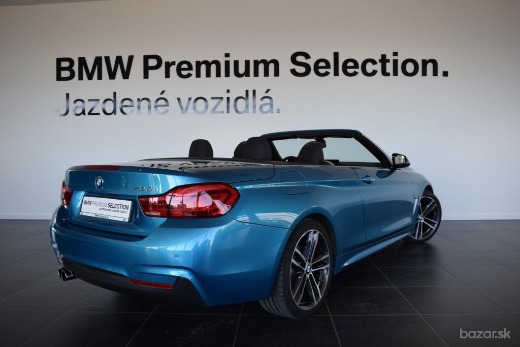 BMW rad 4 Cabrio 420i M Sport (F33)