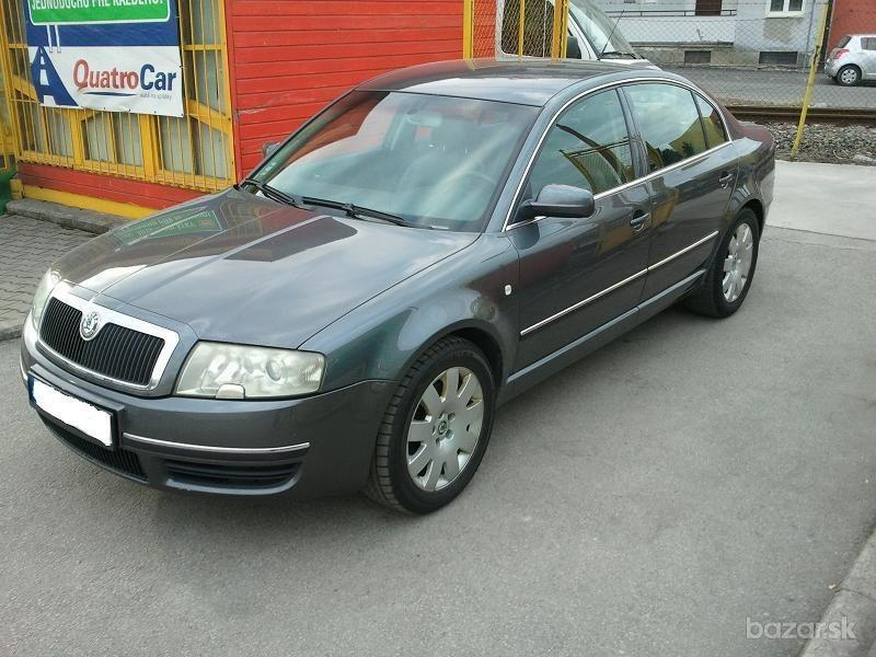 Škoda Superb 2.8 V6 Elegance