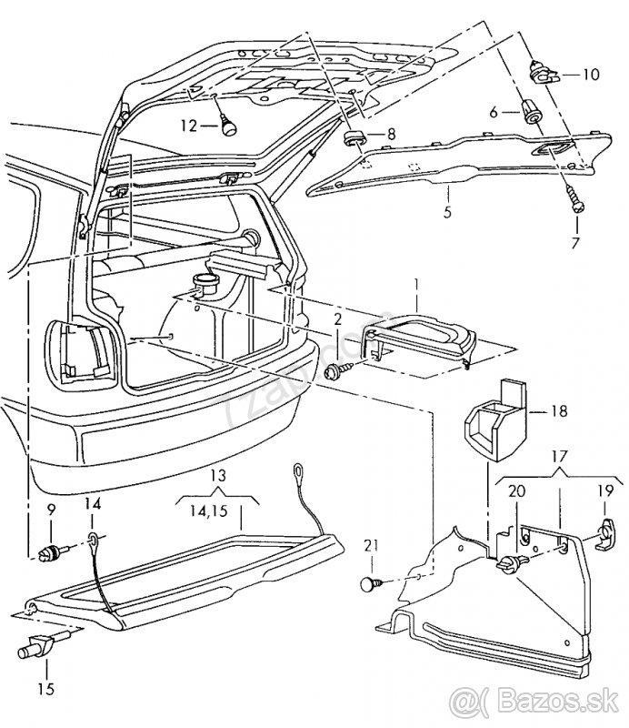 Volkswagen Tiguan Fuse Box Diagram