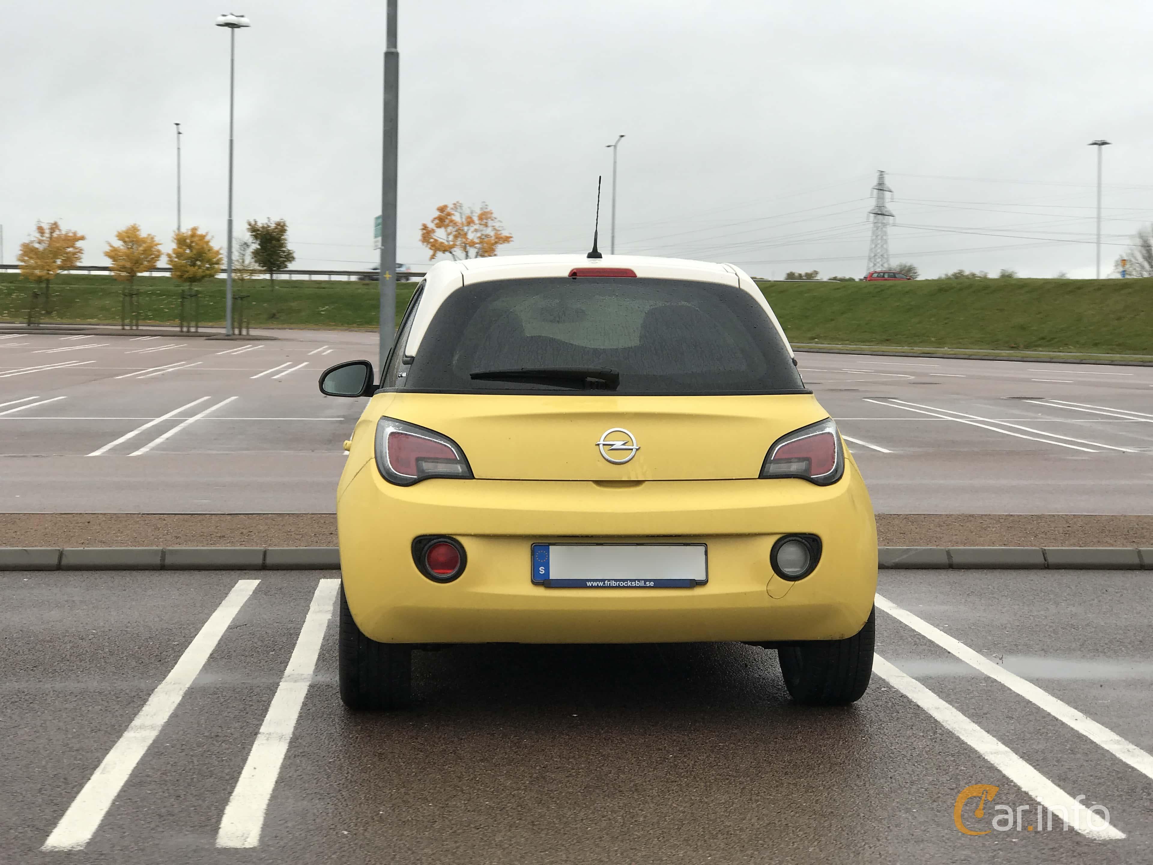 Opel Adam 1.4  Manual, 100hp, 2013