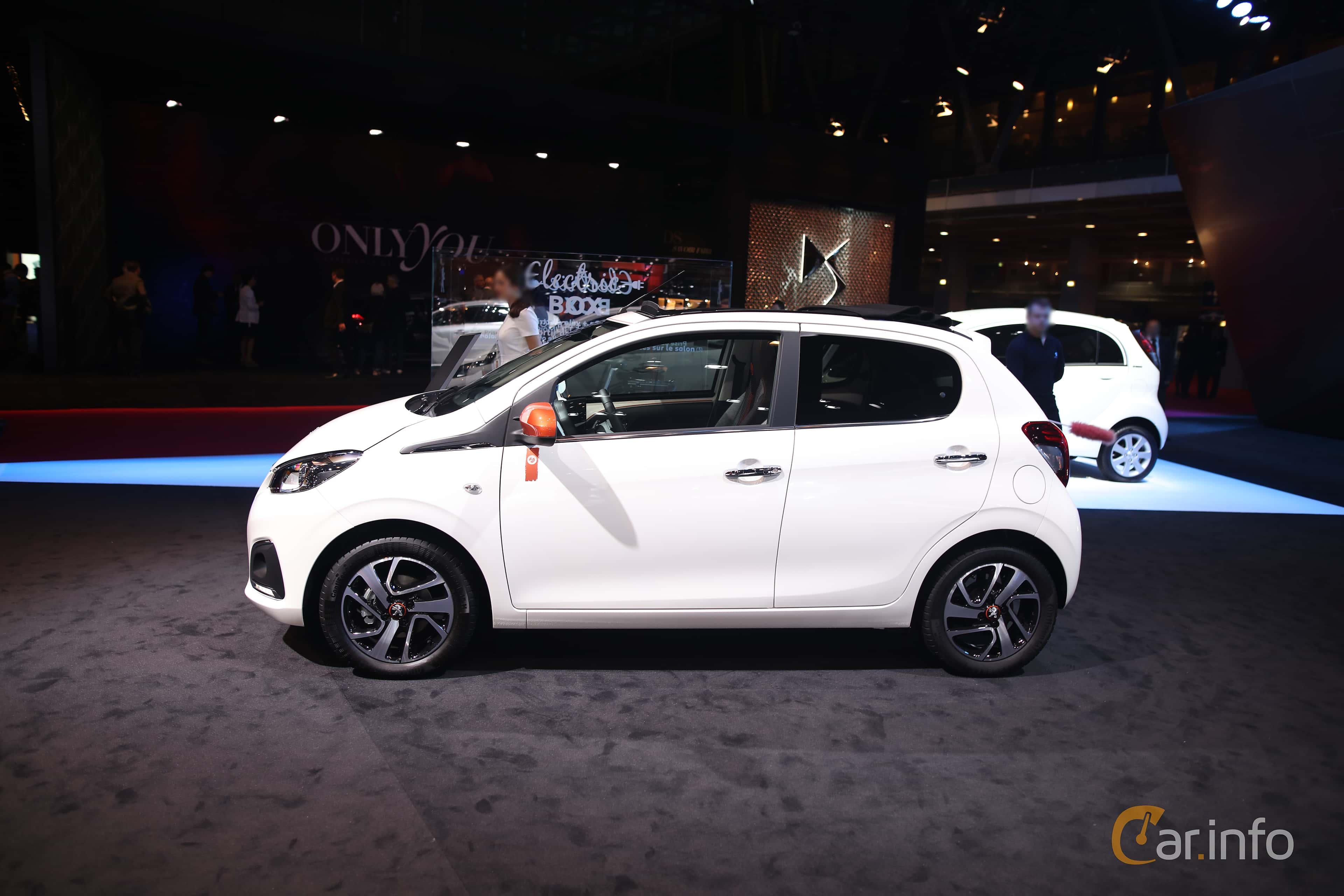Peugeot 108 1.0 VTi 1st Generation, ETG5