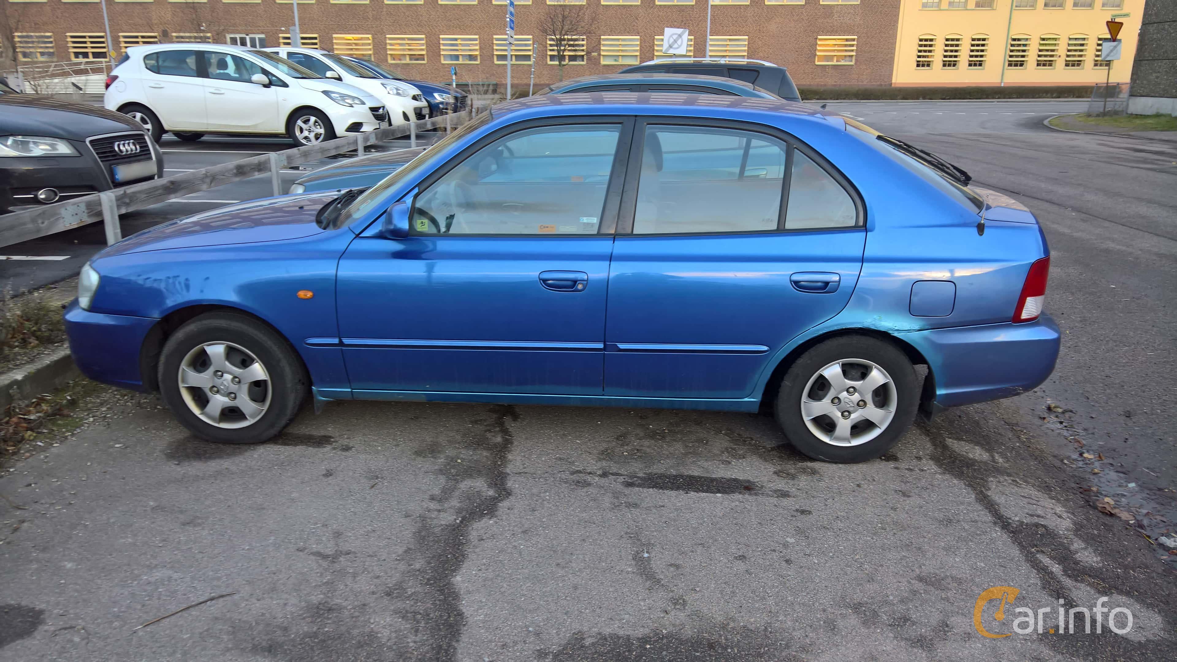 Hyundai Accent 5-door 1.5 Automatic, 90hp, 2000