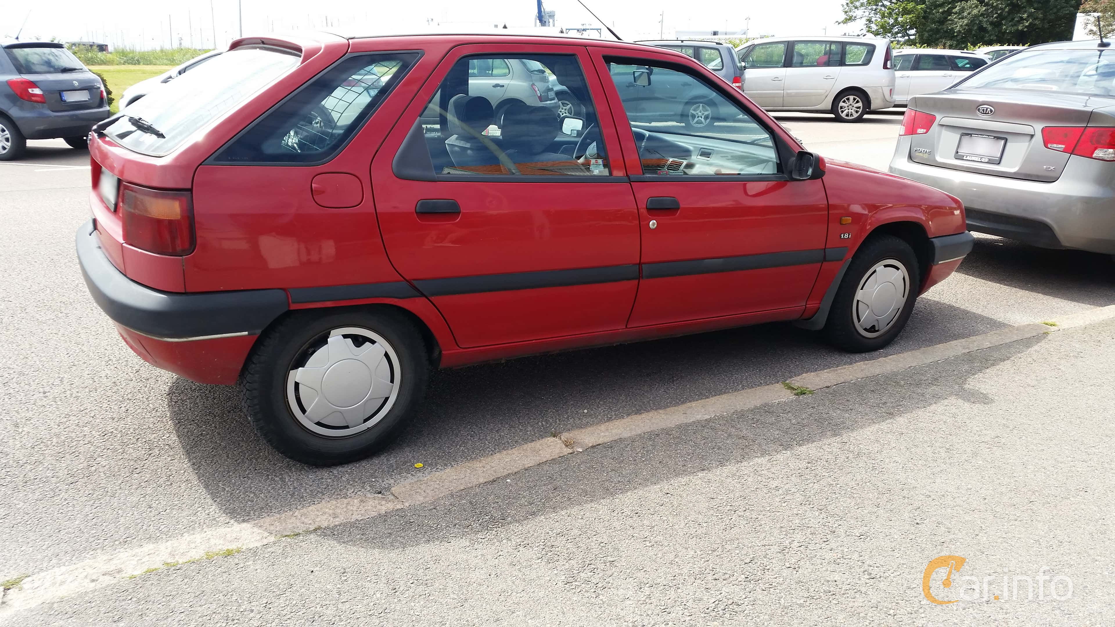Citroën ZX 1.8 Manual, 101hp, 1995